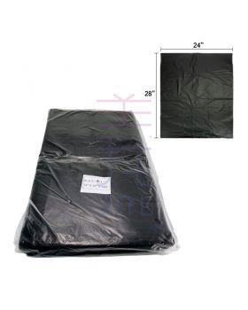 "Black Trash Bag 24"" x 28"" (0.02mm) (80pcs +/-)"