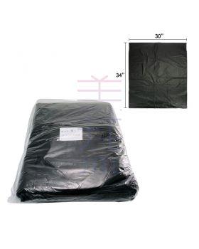 "Black Trash Bag 30"" x 34"" (0.03mm) (40pcs +/- )"