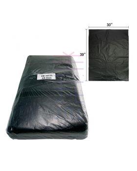 "Black Trash Bag 30"" x 39"" (0.03mm)  (50pcs+/-)"