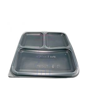 3 Compartment Bento Box (50pcs)