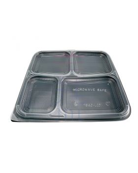 4 Compartment Bento Box (50pcs)