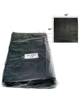 "Black Trash Bag 50"" x 52"" (0.04mm) (20pcs+/-)"