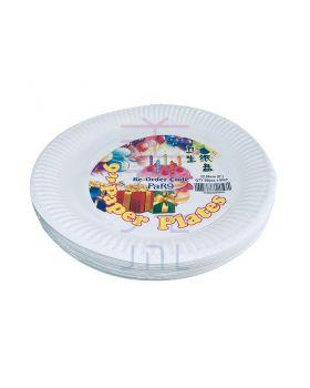 """9"""" Paper Plate (50 pcs +- / pkt)"""