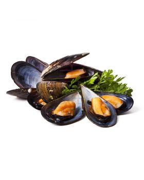 Black Half Shell Mussels (1kg)