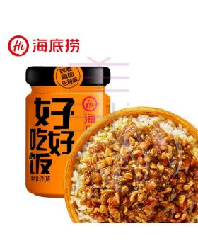 海底捞燕麦青椒酱 Haidilao Oatmeal and Green Pepper Sauce