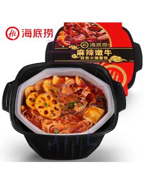 海底捞麻辣嫩牛自煮火锅套餐 Haidilao Self-heating Beef Hotpot (Mala)