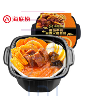 海底捞番茄素食自煮火锅套餐 Haidilao Self-Heating Vegetable Hotpot (Tomato)
