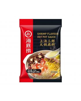 海底捞上汤三鲜火锅底料 Haidilao Shrimp Flavored Hotpot Sauce