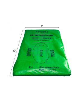 HDPE 7 x 10 (370 gram +- / pkt)