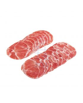 Iberico Pork Collar (2mm, sliced) (500gm)