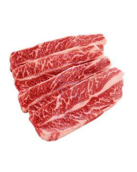 Frozen Australian Boneless Beef Shortrib Slice - 2mm (300gm)
